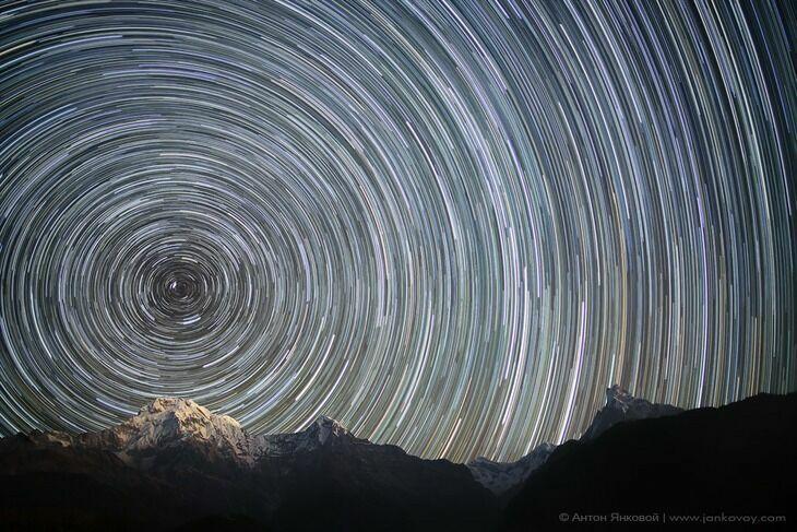 Непал ночное фото