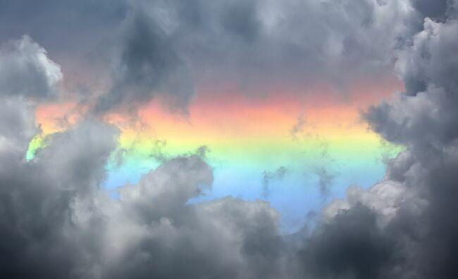 гора Эверест радуга