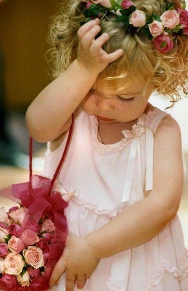 фото цветов и детей