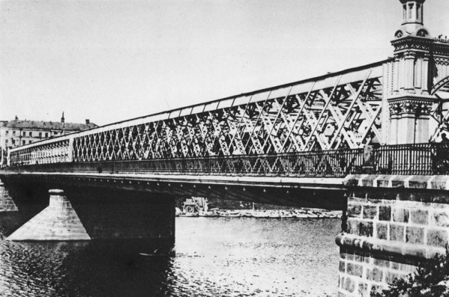 Фото старого Крымского моста