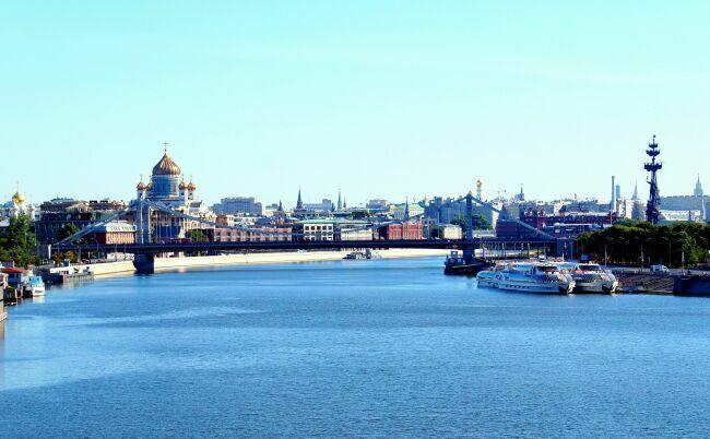 Фото Крымского моста и ЦПКиО