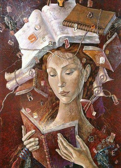 Цитаты о пользе чтения книг в иллюстрациях