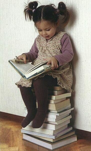 картинки чтение книг детям