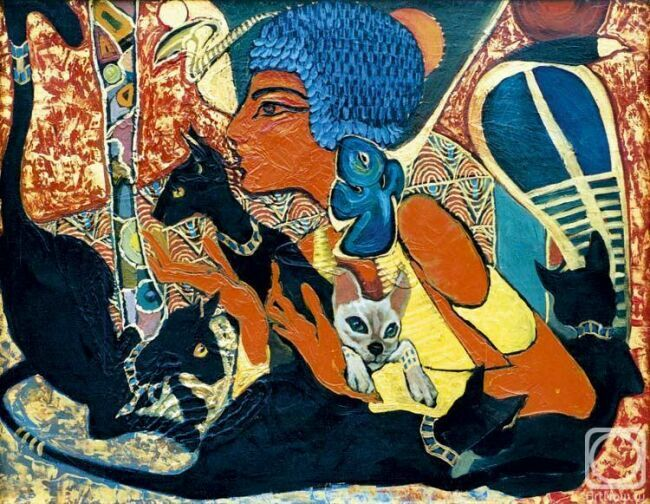 Кошки и женщине в искусстве