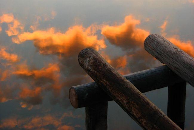 осеннее небо фото