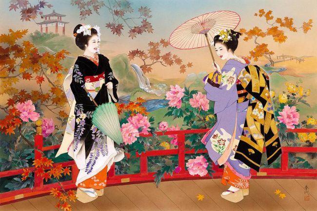 Пионы китайская живопись