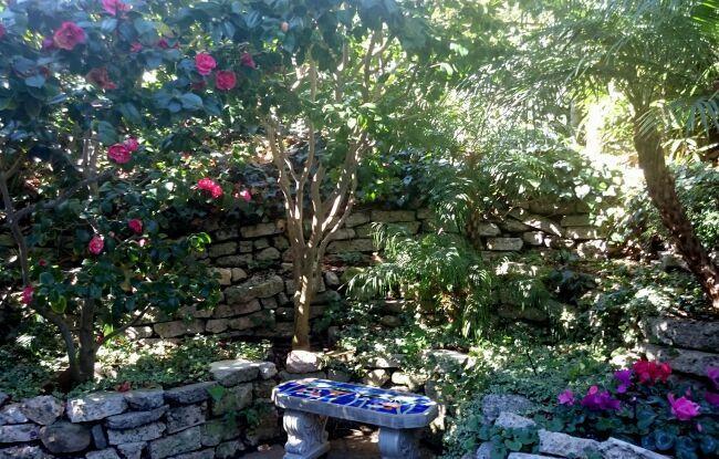 скамейки в райском саду