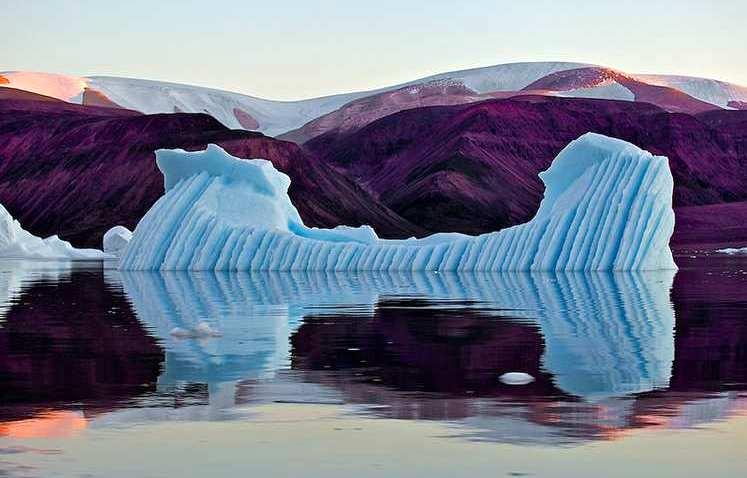 фотография айсбергов от Галины Моррелл