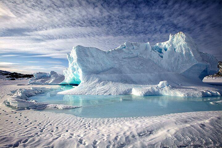 Айсберг фото Моррелл
