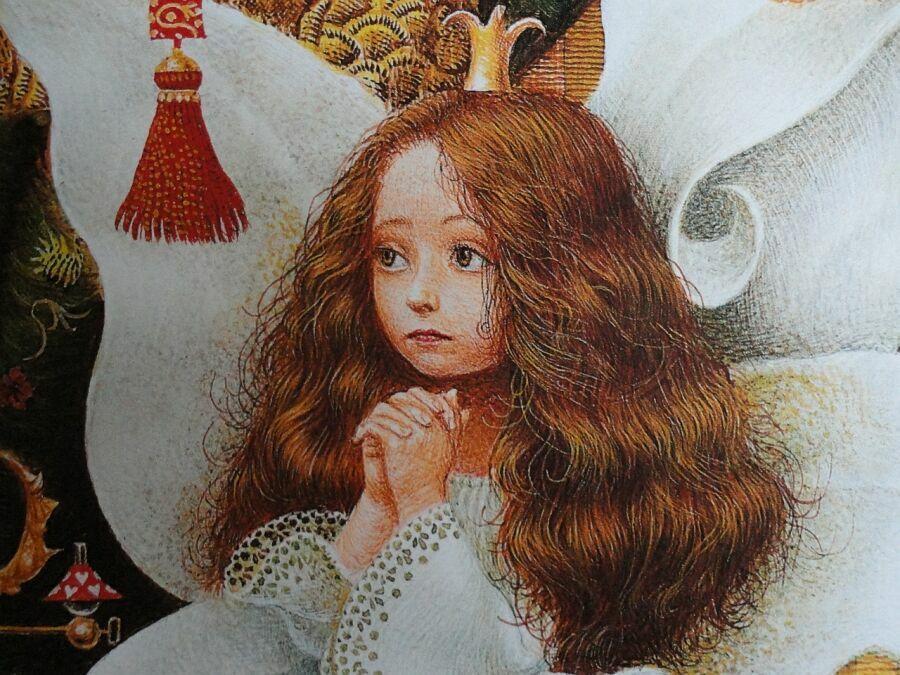 владислав ерко иллюстрация и цитаты про снежную королеву