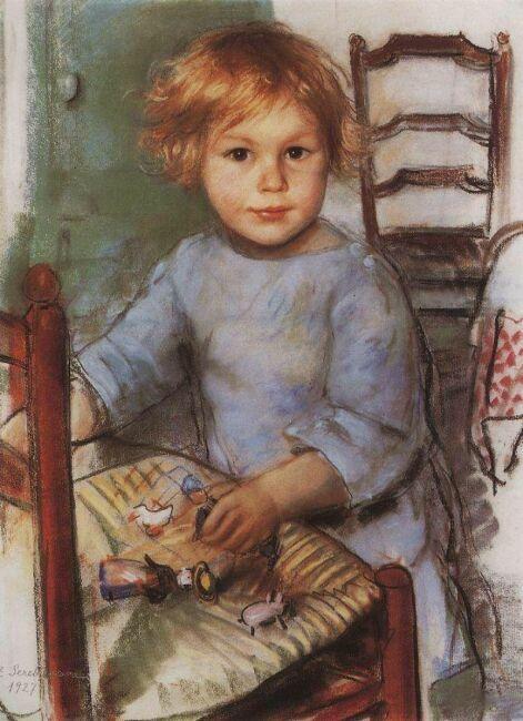 портрет С.Прокофьев 1927