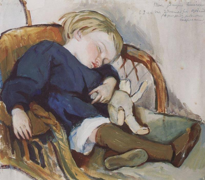Женя Серебряков 1908