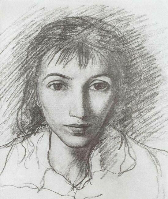 автопортрет художницы Серебряковой
