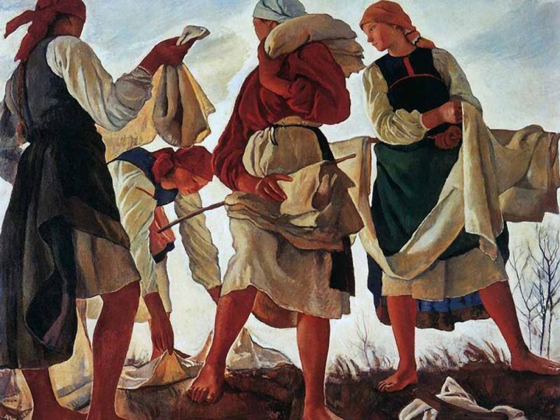 Картина Серебряковой