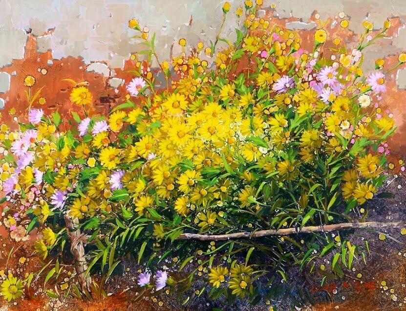 букеты цветов_Yi Seong-Bu