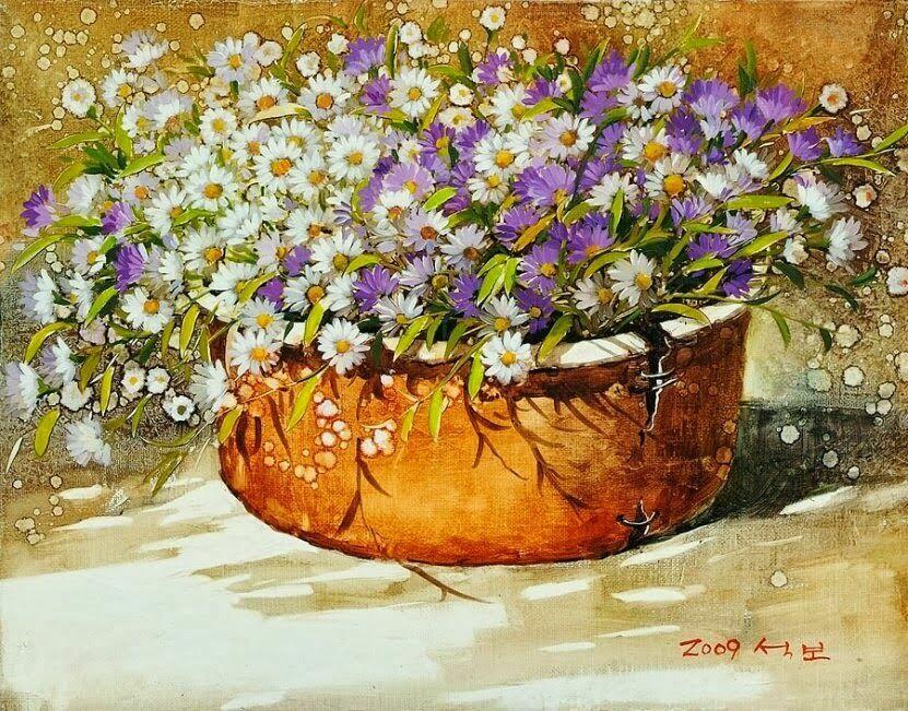 букеты цветов Yi Seong-Bu -11