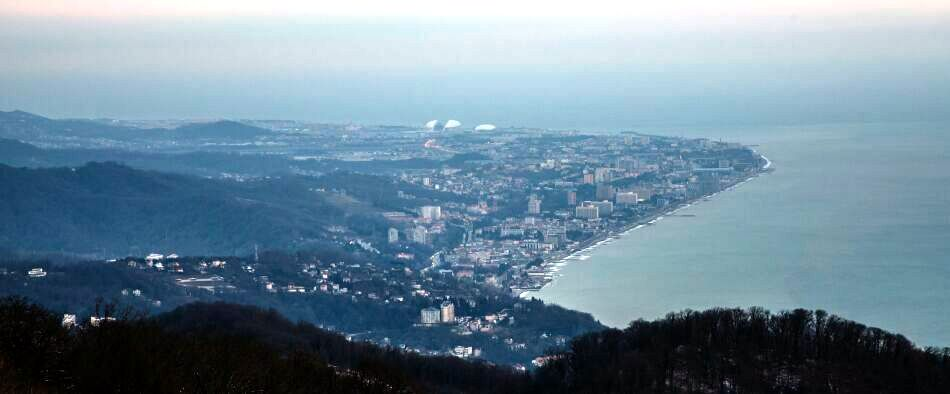 Олимпийская деревня Роза Хутор