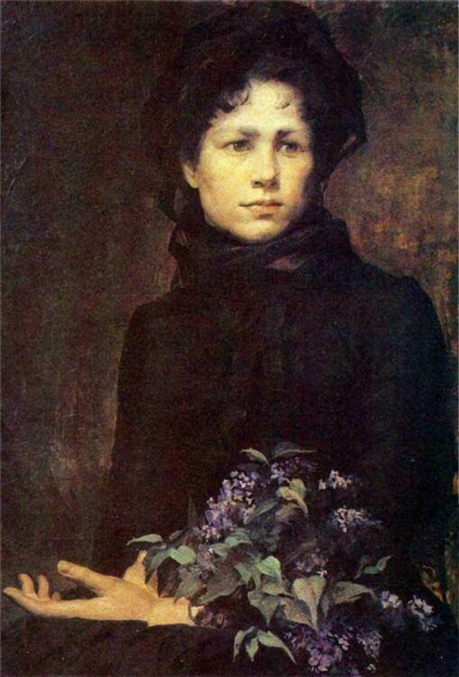 Marie Bashkirtseff_1Сирень 1880г