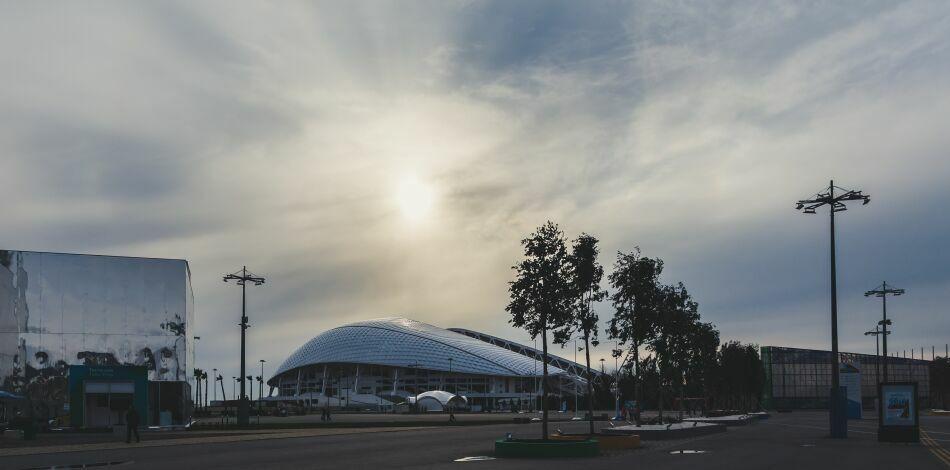 олимпийские объекты Сочи на фото