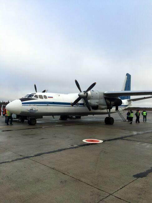 Апатиты Кандалакша фото рейсового самолета