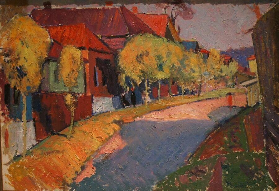Картина из музея русских импрессионистов