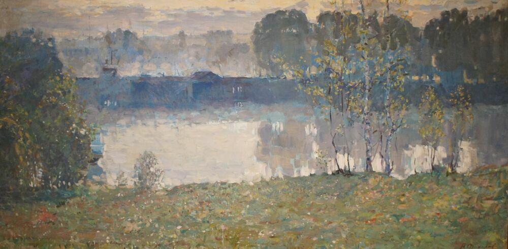 Картина Федорова из Музея русских импрессионистов