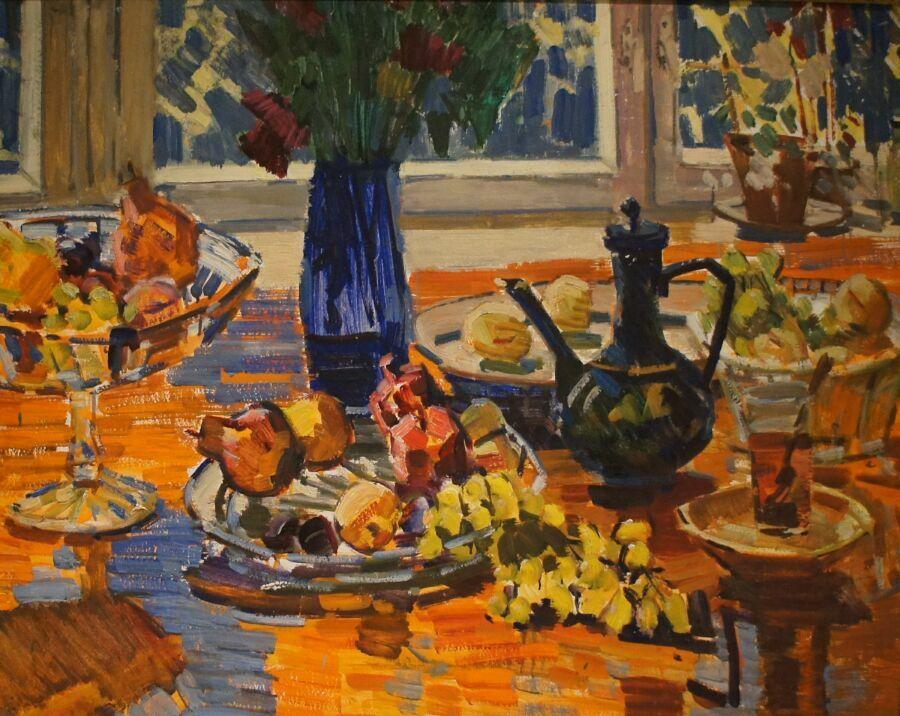 Картина Горлова из Музея русского импрессионизма
