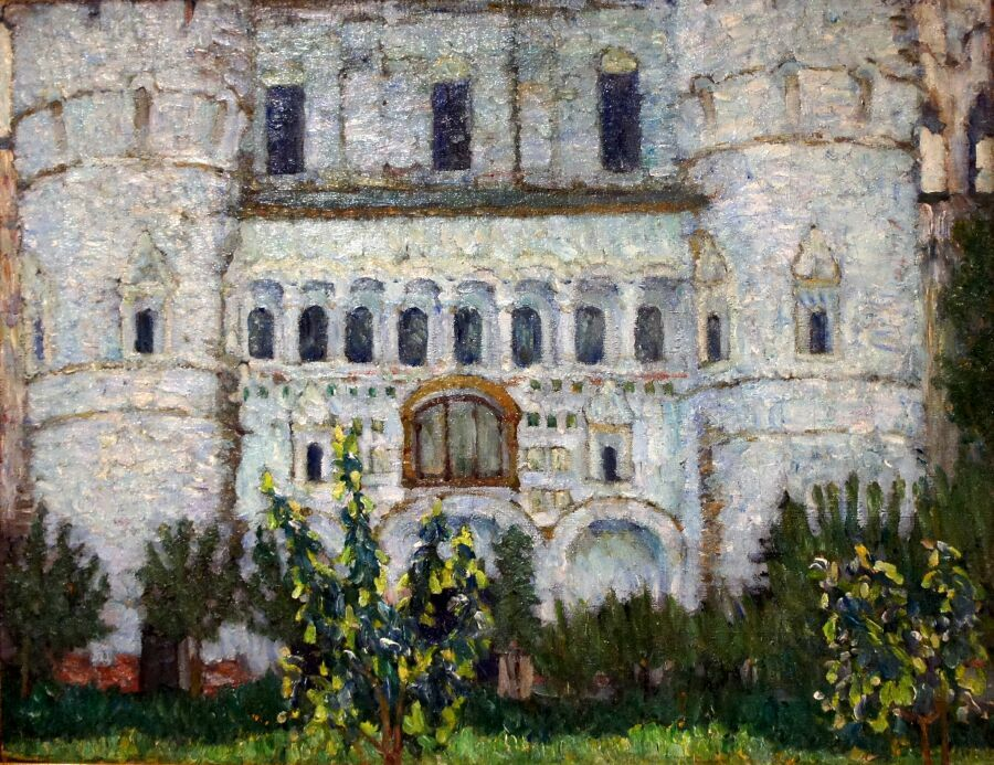 картина Юон в музее русского импрессионизма в Москве
