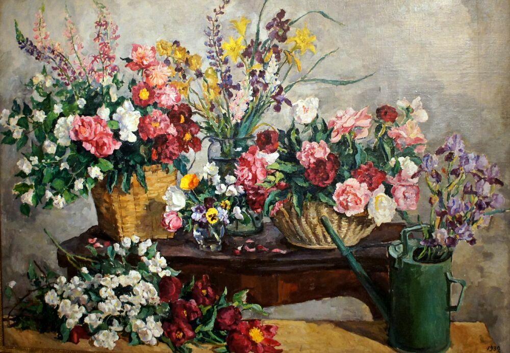 картины русских импрессионистов в музее